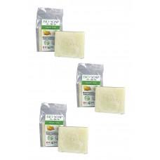 DOĞAL KÜKÜRTLÜ AKNE SABUNU - BIO-SOAP SULFUR SOAP-%100 BİTKİSEL-HALAL SERTİFİKALI - 135GR 3'LÜ
